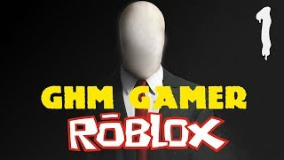 : Blue sister is Roblox Slender thai!