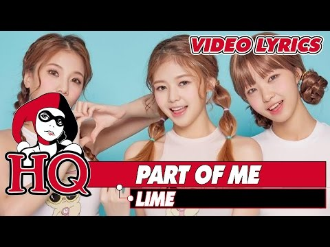 Part Of Me (Official Audio) - LIME    Video Lyrics    ✦HQ MUSIC✦