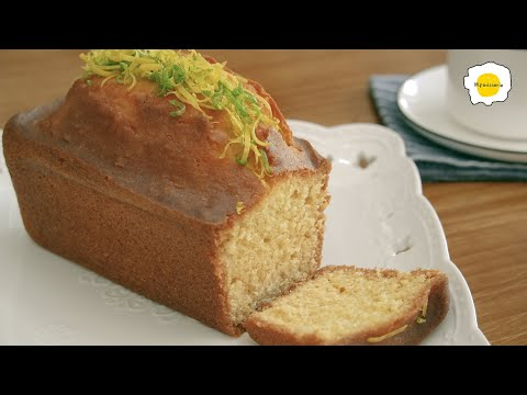 lemon-pound-cake-easy-recipe-超级简单的柠檬磅蛋糕-gateau-au-citron-recette-facile