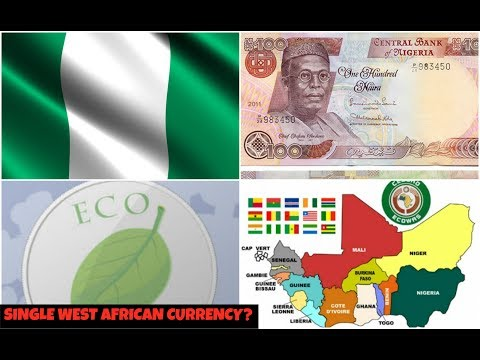 Nigeria To Adopt Single ECOWAS Currency?