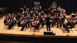 Campbell County High School Symphonic Band At Northern Kentucky University Part One/Spring Concert