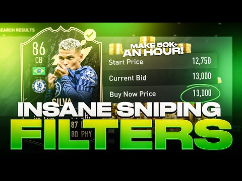 INSANE SNIPING FILTERS IN FIFA 22! 😲   FIFA 22 ULTIMATE TEAM