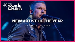 Zach Williams Wins New Artist of the Year