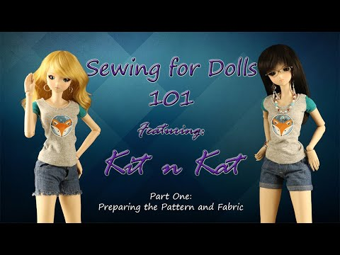 Sewing For Smart Doll 101 Part 1