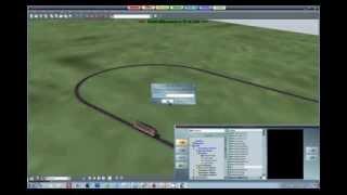 EEP-X التعليمي 01 - إنشاء أول تخطيط محرك نموذج محاكاة القطار