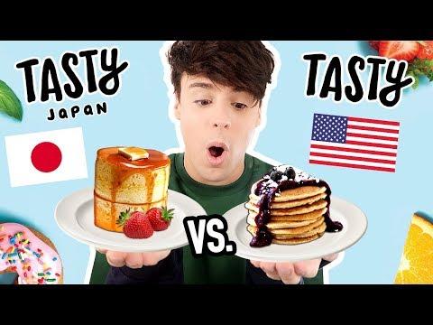 i made a TASTY JAPAN vs. TASTY USA recipe