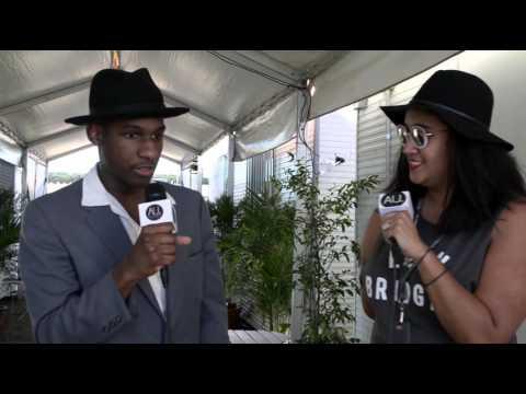 Leon Bridges: Interview at Falls Festival 2015