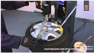 Монтаж шин RunFlat на оборудовании Nussbaum (Германия)(Высококачественное оборудование Nussbaum для проведения монтажа и демонтажа шин легковых автомобилей и комме..., 2015-01-04T12:12:15.000Z)