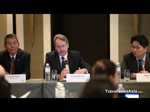 Aviation Industry: Closing Press Conference from AAPA's 61st Assembly of Presidents 2017 in Taipei