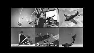 Hitting a Moving Target for World War 2 Bomber Gunners (1944 - Restored)