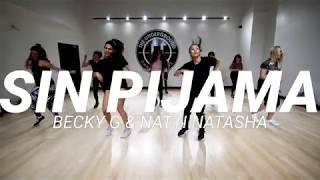 SIN PIJAMA - BECKY G & NATTI NATASHA (STEF WILLIAMS REGGAETON CLASS)