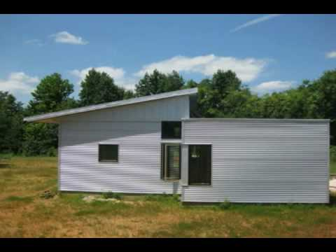 Prefab green home passive solar sips house kit open house for Passive solar prefab homes