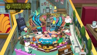 Pinball FX2 -  Family Guy - gameplay
