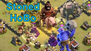 Stoned HoBo Attacks on Common Bases (TH9) - Clash of Clans