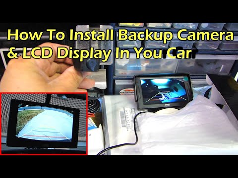 how to install rear view reverse backup camera on car. Black Bedroom Furniture Sets. Home Design Ideas