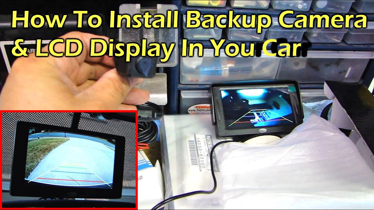 How to install rear view reverse backup camera on car youtube asfbconference2016 Choice Image