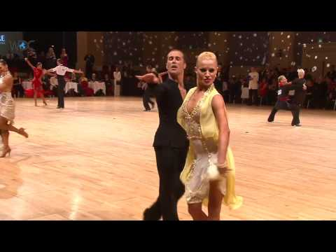 Fred Astaire Cup Professional Latin Final + Interview with Riccardo and Yulia