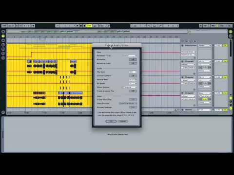 Ableton Tutorial--How to Export Stems for a Remix