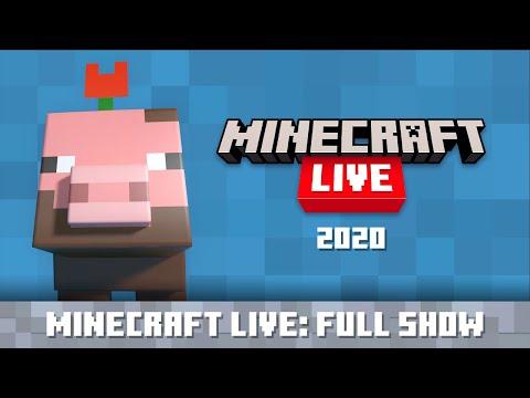 Minecraft Live 2020:  Show