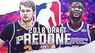 Re Drafting the 2018 NBA Draft