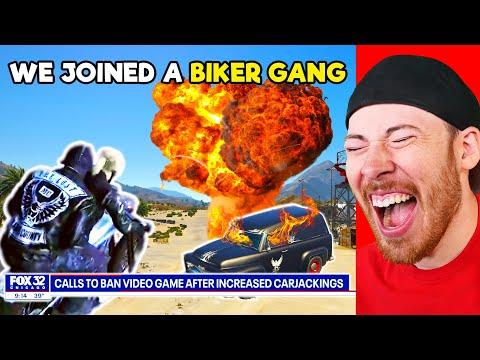 We Joined The Lost Biker Gang In GTA 5 RP (Nopixel 3.0)  