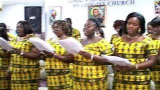 Good Shepherd Ghana Methodist Church Ressurection Night.avi
