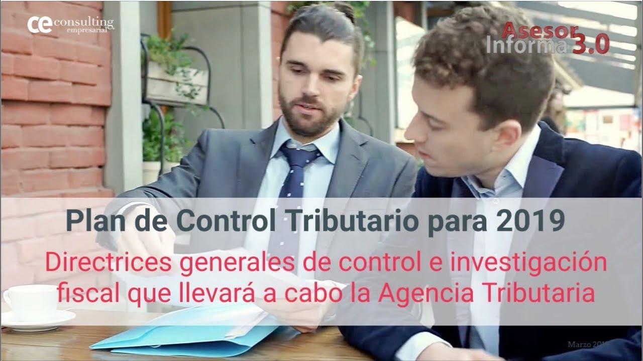 Plan de Control Tributario: Cómo evitar el cierre registral | Asesor Informa 3.0