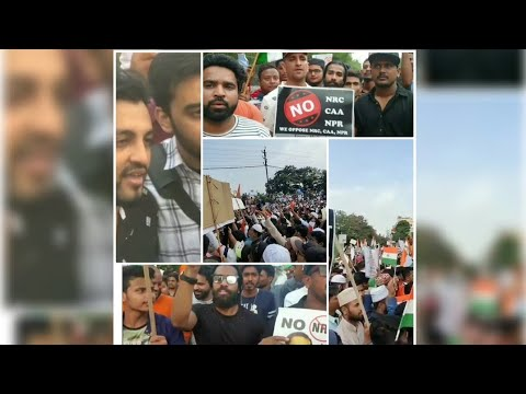 Download HYDERABAD'S MILLION MARCH BIGGEST PROTEST AGAINST NRC AND CAA  BAIGAN VINES KRACK HYDERABAD'S