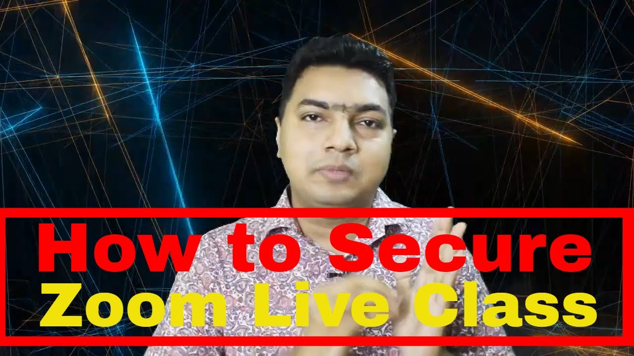 How to Secure Zoom Classroom