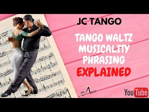 Tango Vals Musicality Explanations With Music Musicalité En Vals Avec Musique