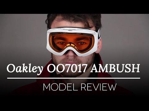 4b404ef2806 Oakley OO7017 Ambush Snow Goggles Review - YouTube