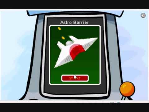 Club Penguin Astro Barrier Full Game