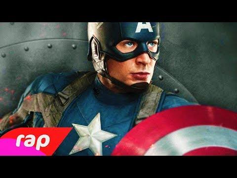 Rap do Capitão América - O PRIMEIRO VINGADOR | NERD HITS