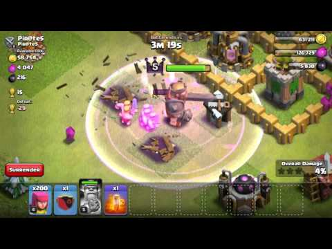Clash Of Clans | BARBARIAN KING LVL 5 UNLOCK!