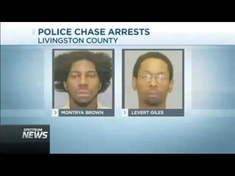 2 Arrested As Dash Cam Video Shows Chase Coming to End in Mount Morris