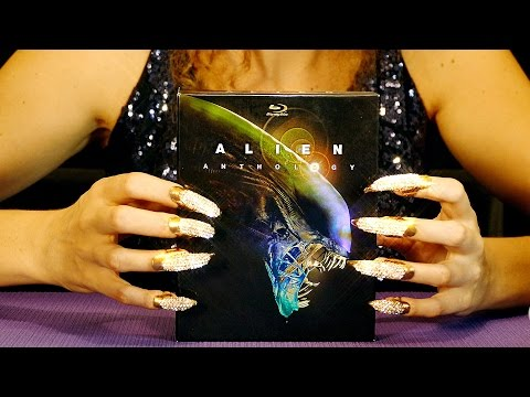 ASMR Diamond Claw Nails! Tapping & Scratching Ear to Ear Whisper Relaxation
