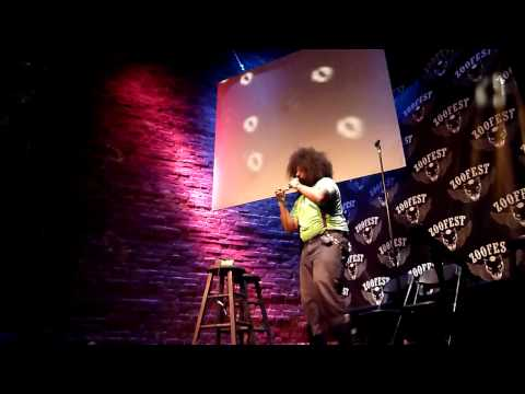 Reggie Watts - Fuck Shit Stack (Live In Montreal)