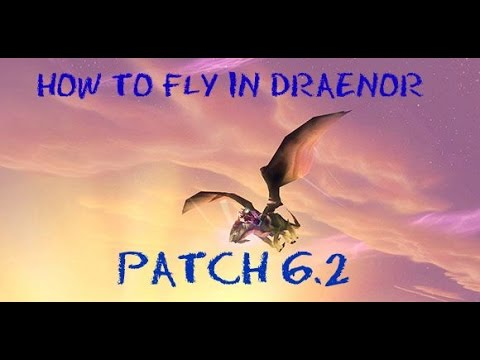where to learn how to fly in draenor