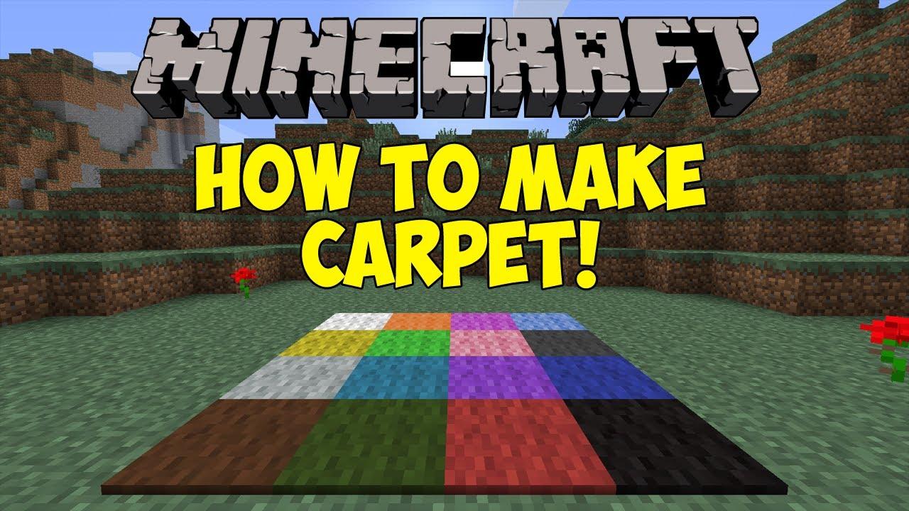 Carpet Minecraft 1 6 - Carpet Vidalondon