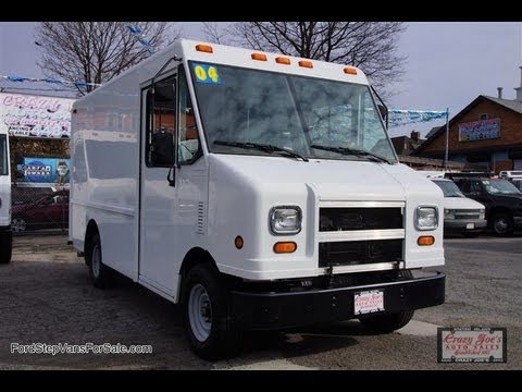 2004 Ford E350 Step Van Utilimaster 20 000 Miles Commercial Truck