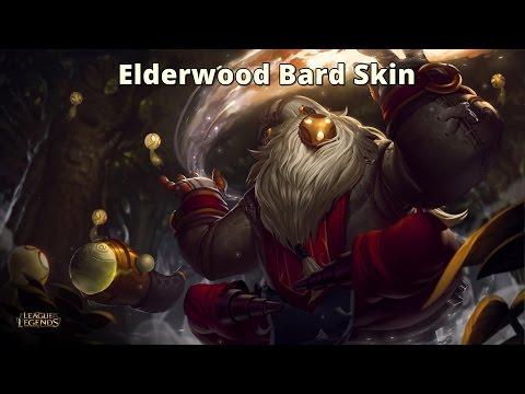 Elderwood Bard Skin & Abilities Spotlight - League of Legends