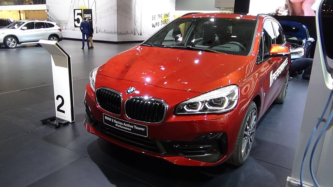 2019 Bmw 225xe Active Tourer Exterior And Interior Auto Show Brussels 2018