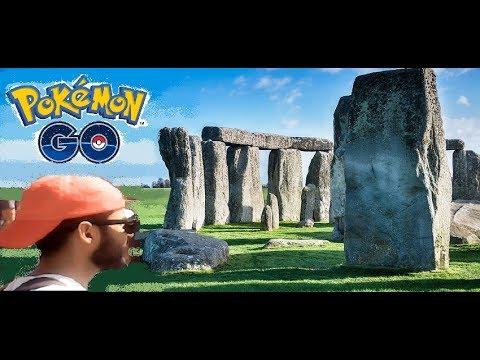 POKEMON GO- STONEHENGE AND SALISBURY! (part 3)