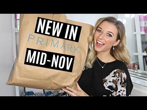PRIMARK HAUL + TRY ON! MID-NOVEMBER 2018 / NEW IN!