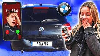 PRANK NA THESIKRTU: Razbili su mu novi BMW!⎪SaamoPetraa