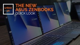 First Look: Asus Zenbook 13 (2018)