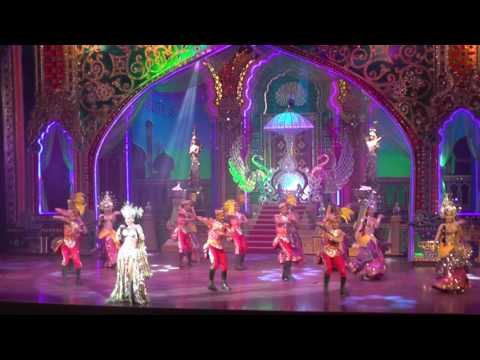 ALCAZAR CABARET SHOW, PATTAYA, THAILAND, INDIAN DANCERS 23-4-2017