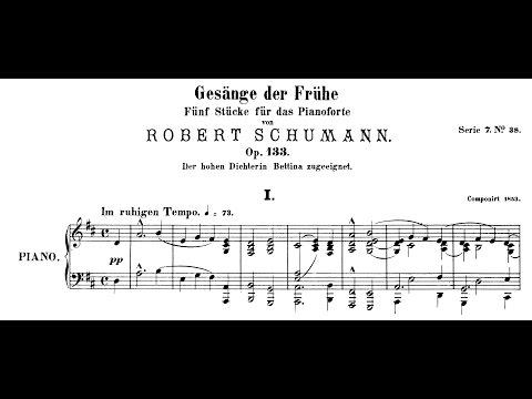 Schumann: Gesänge der Frühe, Op.133 (Uchida, Schiff)