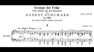 Schumann: Gesänge der Frühe, Op.133 (Uchida, Schiff) thumbnail