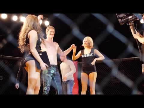 Micah Brakefield flying triangle off the cage at SUG3; calls out Sam Alvey